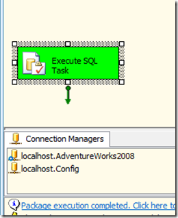 Using Configuration Tables in SSIS 2008/2005 | MikeDavisSQL